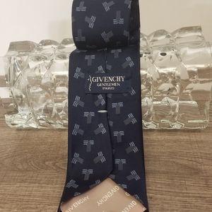 Givenchy Tie Gentlemen Paris Blue on Blue